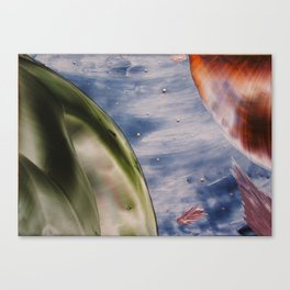 Planetary space Canvas Print