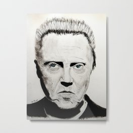 Christopher Walken Metal Print