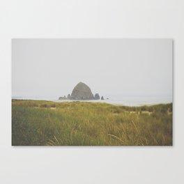 Haystack Rock Canvas Print