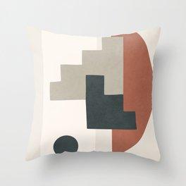 Minimal Shapes No.30 Throw Pillow