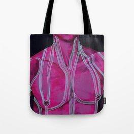 Neon Like Fluids Tote Bag