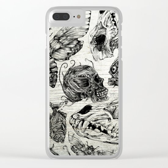 Bones and Co Clear iPhone Case