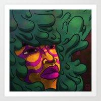 Hair #2 Art Print