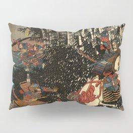 War in 1100's in Japan Pillow Sham