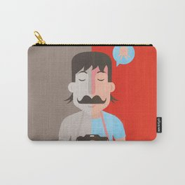 Moustachu Carry-All Pouch