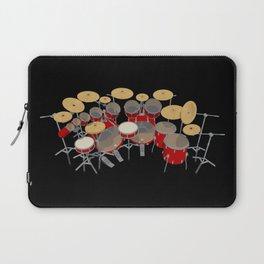 Large Drum Kit Laptop Sleeve
