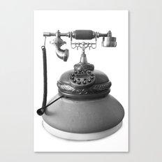 Retro Digital Phone Canvas Print