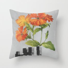 "255 - ""a tree grows in Brooklyn"" Throw Pillow"