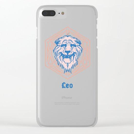 Leo Clear iPhone Case