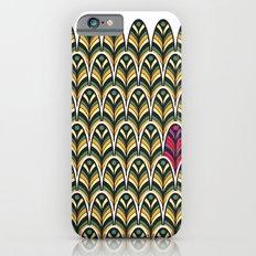 Rubine Feather iPhone 6s Slim Case