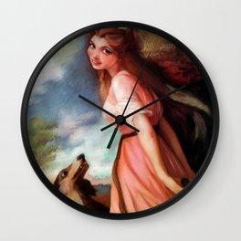 Lady Hamilton Wall Clock