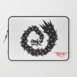 Mariachi Ronin Feathered Snake black Laptop Sleeve