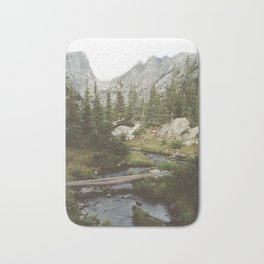 Dream Lake Creek Bath Mat