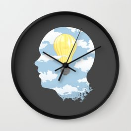 Bright Idea Wall Clock