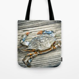 """Busted Peeler"" - Maryland Blue Crab Tote Bag"