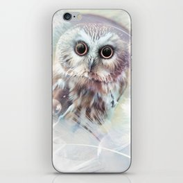 Chouette douceur iPhone Skin