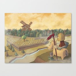 don chisciotte Canvas Print