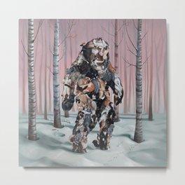 Catsquatch II Metal Print