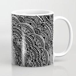 Zen Black and white mandala Sophisticated ornament Coffee Mug