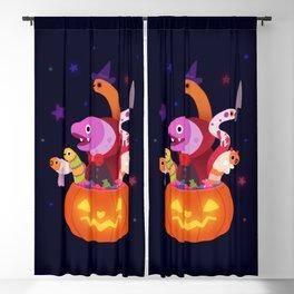 Spooky eels Blackout Curtain