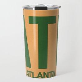 ATL Atlanta Luggage Tag 1 Travel Mug