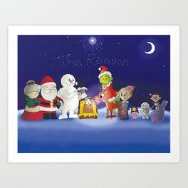 'Tis the Reason for the Season Art Print