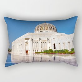 Sultan Qaboos Grand Mosque Rectangular Pillow