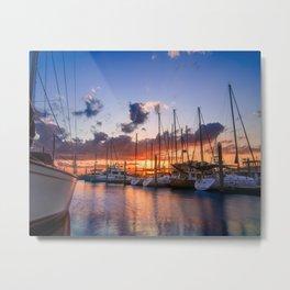 Palafox Wharf I Metal Print