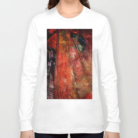Sicilian Fisherman    (This Artwork is a collaboration with the talented artist Agostino Lo coco) Long Sleeve T-shirt