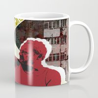 snatch Mugs featuring zee germans  by Andra Vlasceanu