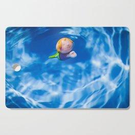 Mermaid in the pool Cutting Board