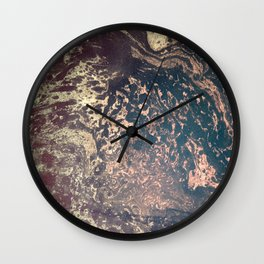 Textured Paper 01 Wall Clock