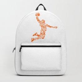 Basketball Art Dunk Backpack