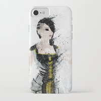 angel iPhone & iPod Cases featuring Angel by Melissa Smith