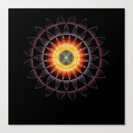 Black Hole Sun2018 Canvas Print