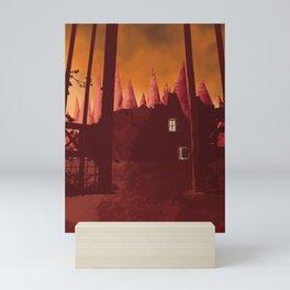 Enter before dawn Mini Art Print