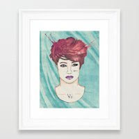 exo Framed Art Prints featuring Exo Kai by Isaacson1974