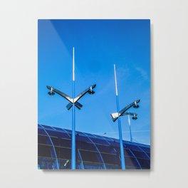 Lambent Blue, 2010 Metal Print