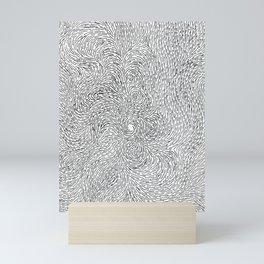 Turbulence 6 Mini Art Print