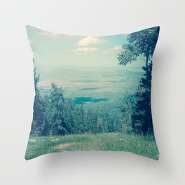 Someone Once Told Me Throw Pillow