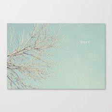 Bare Tree Canvas Print