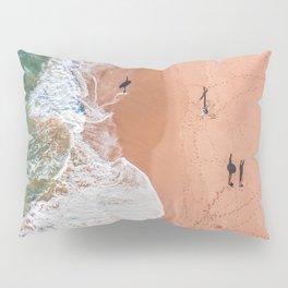 Surf Footprints Pillow Sham
