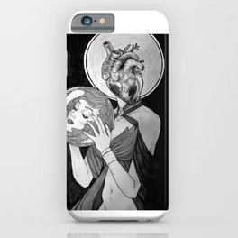 To Follow Your Heart, Abandon Your Head iPhone Case