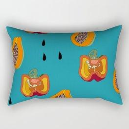 DINNER IN SPAIN BLUE Rectangular Pillow