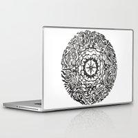 calendar Laptop & iPad Skins featuring Aztec Calendar by Jack Soler