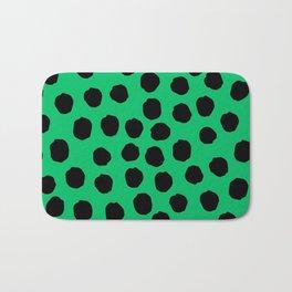Dots - Green Bath Mat