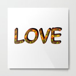 Love F1 Metal Print