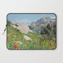 August Wildflowers in the Rockies Laptop Sleeve