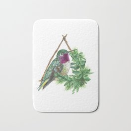 Hummingbird Bath Mat