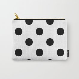XXL Black and White Polka Dots | Carry-All Pouch